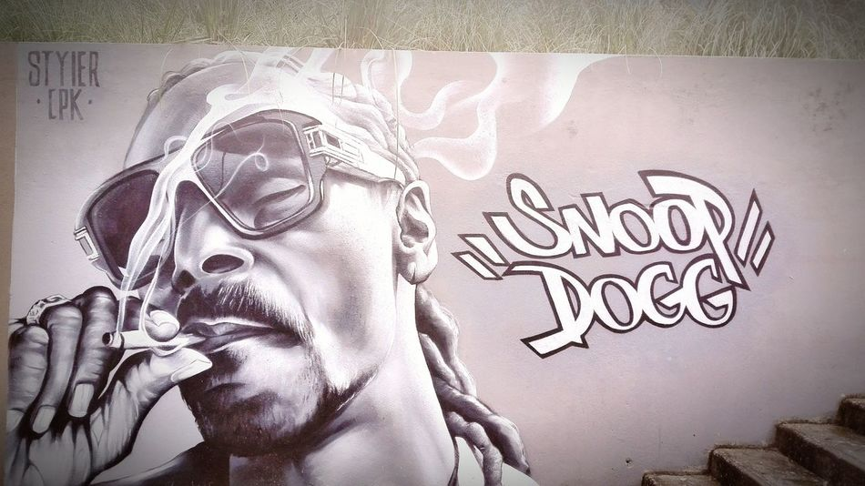 Snoop Dogg graff rio de mouro ... by styler Snoopdogg Graffiti Urban Art Graffiti One Person Human Face Adult Adults Only Only Women Young Adult The Graphic City