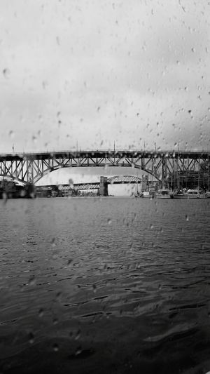 Bridges in the Sky & Rain Drops on the Water March 2016