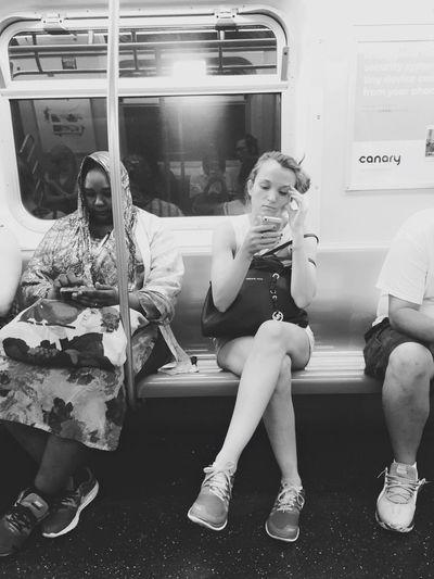 SubwayNY Subway New York Taking Photos PhonePhotography Phone
