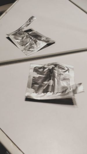 Lonely Condom Condoms Packet Packet Design Sexyboy Sexygirl Single Reflection Reflect