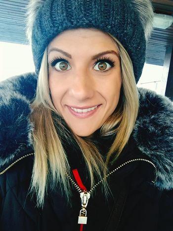 Blond Hair Selfie ✌ Good Morning Happy :) Cool -11°C Ajka Gabriella Hungary Hungarygirl Winter
