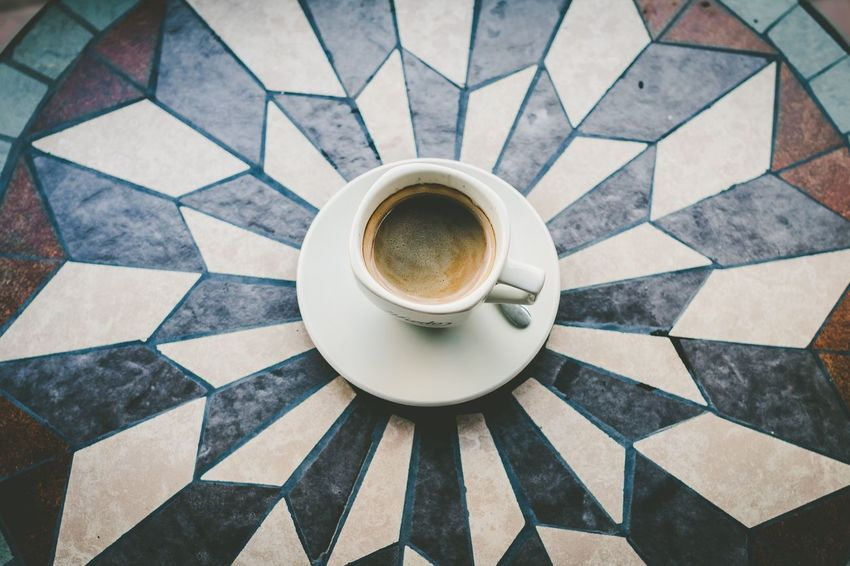 A Bird's Eye View Coffee Cup Coffee - Drink Non-alcoholic Beverage Coffee Time Tabletop Table Top Photography Coffee ☕ Coffeetime Coffeelovers