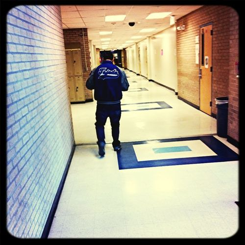 I Like His Jacket Thoe >
