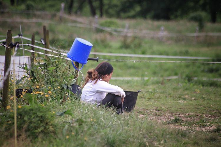 Plant Women Adult Nature Mirando Cantabria