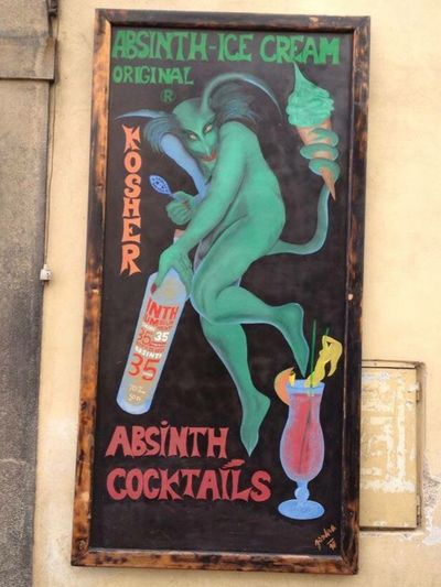 Chez Republic Prague Absinthegreenfairy Absinth