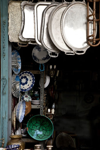 Antiques Athens Ceramics Fleemarket Greece Metal Metallic Monastiraki Má Old Old Fashion Old Fashioned Porcelain  Salver Style Tray Trays Wood