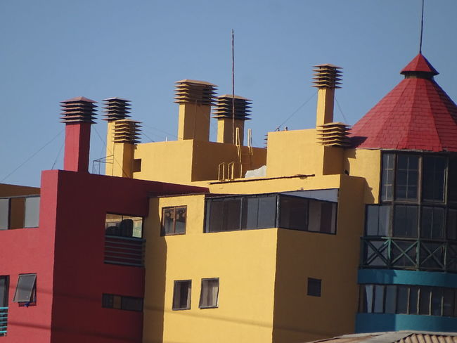 Architecture Building Exterior Built Structure City Iquique Chile  Modern No People Residential Building