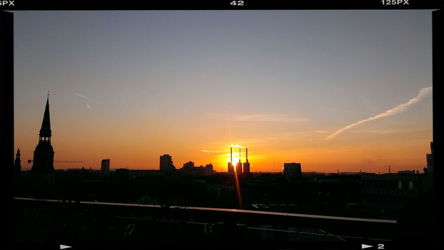 Sun Set Cloud