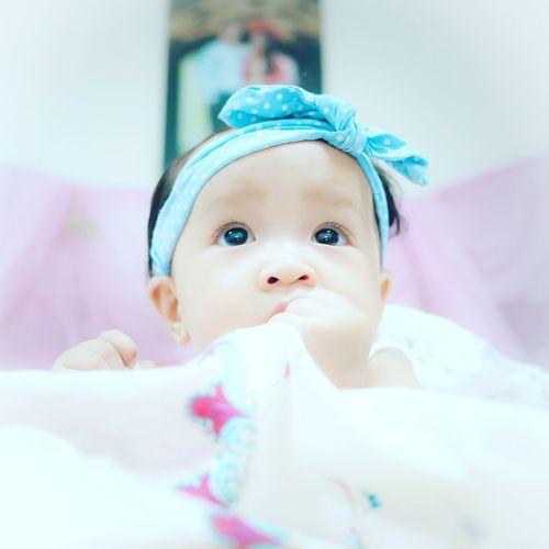 Naive eyes Baby