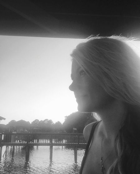 Sunlight Sunbeam Water Profile View Person Day Black & White Content Evening Thinking Alone Time Southern Girl  Profile Picture Relaxing Beauty Woman Light And Shadow Women Of EyeEm Eyeemwoman Woman Portrait Woman Face Woman Who Inspire You