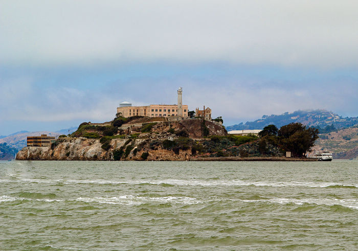 Alcatraz Cell Escape Island Ocean Prison San Francisco San Francisco Bay Sea The Rock Seeing The Sights Blue Wave The KIOMI Collection
