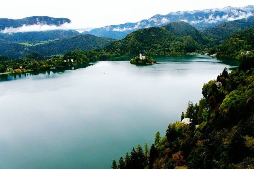 Travel Photography Lakebled Beautiful