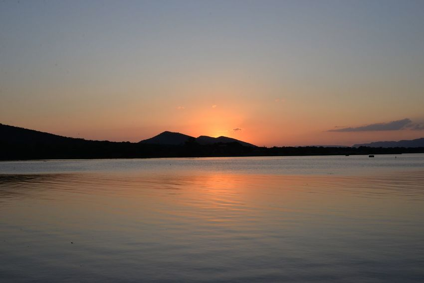Hartebeespoort dam Sunset Tranquility Beauty In Nature Scenics Tranquil Scene Nature Water Sky Silhouette Sea No People Idyllic Outdoors Mountain Beach Clear Sky Salt - Mineral Day Hartbeespoort Dam Hartebeespoort Harties South Africa