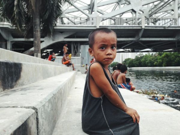 Water Day Leisure Activity Real People Street Photography Close-up EyeEm Phillipines Little Boy