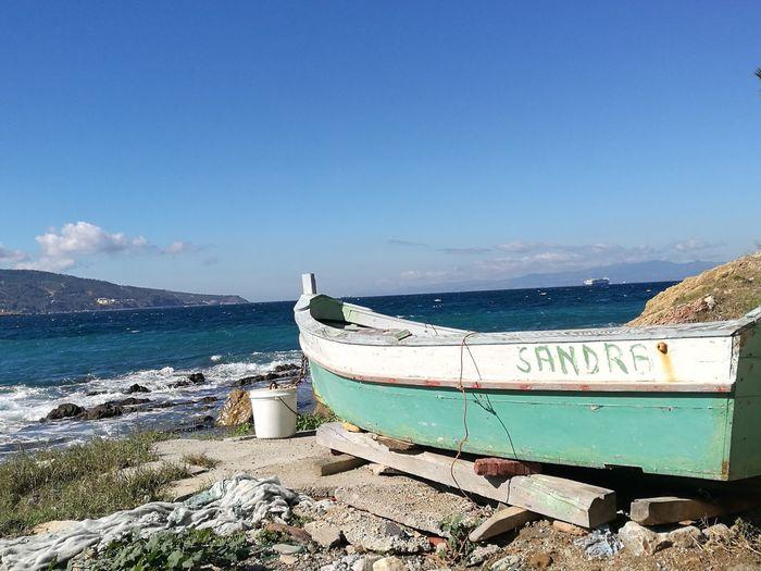 Nautical Vessel No People Sea Beach Barcas Varada Bahia De Ceuta, España