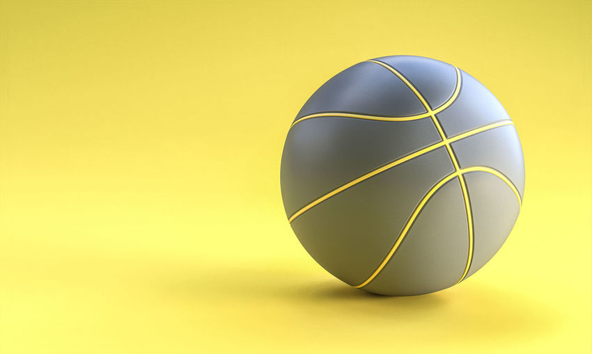 Close-up of yellow ball