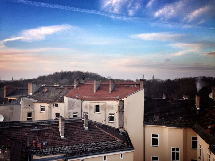 Sky Over Townhouses