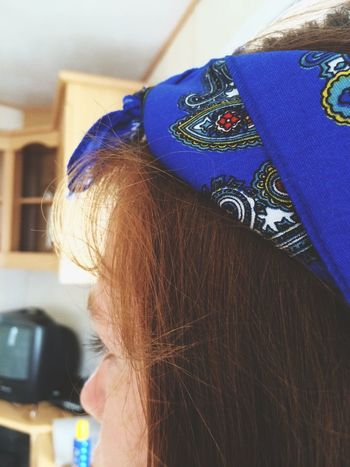 it's been a while, soz🙊 Hair Bandanna Festival Colourful Side View Photography Ginger Red Heads :) Friends