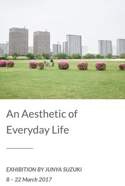 online exhibition on Camera Infinita. http://www.camerainfinita.com/an-aesthetic-of-everyday-life/