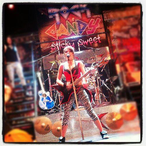 My rock star daughter. Fremontstreetlasvegas Fremontstreetexperience Fremontstreetlv Downtown Rockcandy  Daughter Lasvegas