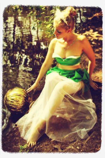 dream a little dream, princess. Photoshoot Color Portrait Model Fairy Tale