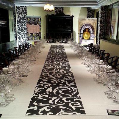 Todo preparado en @marquinetti para el Wineuptour en Tomelloso