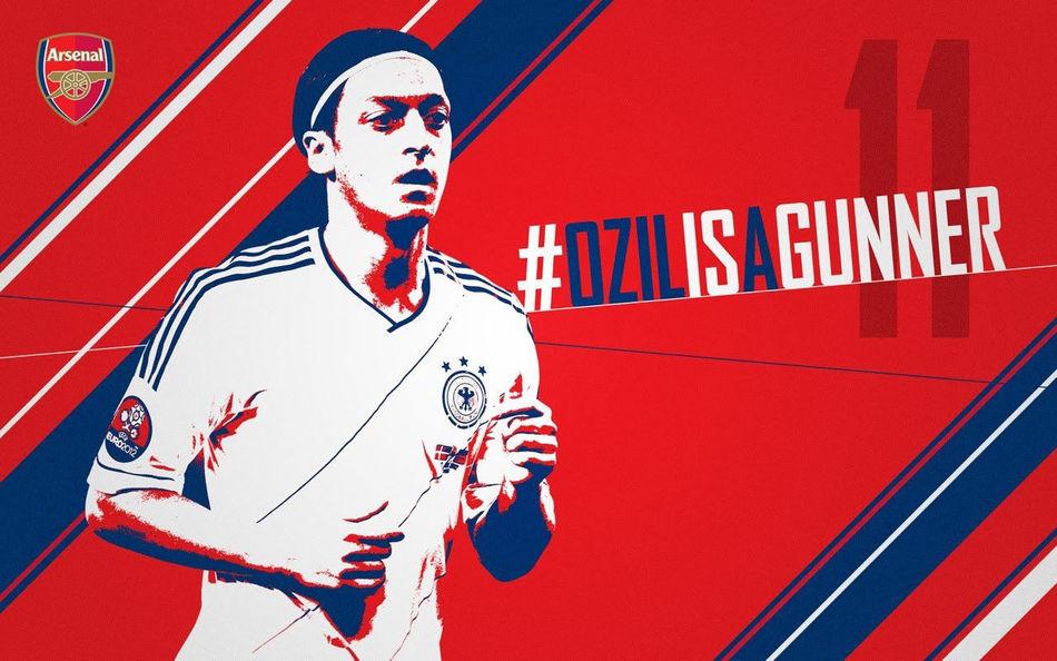 Özil is a gunner! Futbol Mesut Ozil Özil