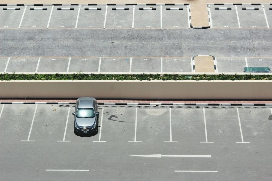 Day No People Outdoors Eyeem Philippines Car Parkinglot Rule Of Thirds Vacant Lot