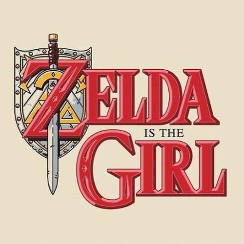 ? Zelda is a Girl Ithoughtitwasprettyfunny