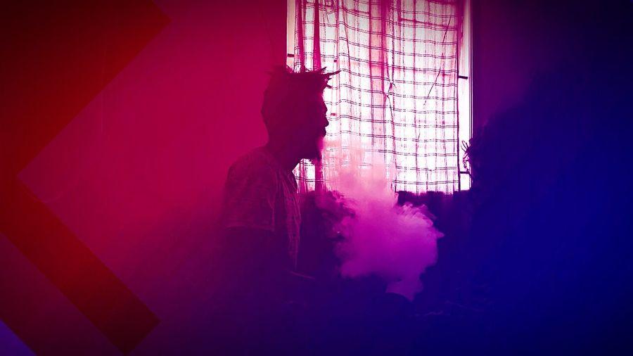 Smoke Light And Shadow Friends ❤ Fullon