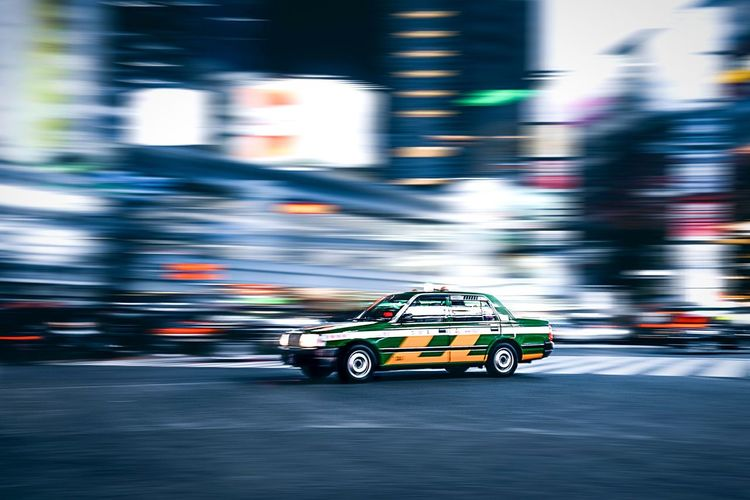 Shibuya diaries 🇯🇵 Panningphotography Panning Japan Tokyo Motion Blurred Motion Transportation Speed Mode Of Transportation Car Driving on the move Taxi Motor Vehicle Road Rickshaw City People Sport City Street Street City Life Competition Architecture My Best Photo My Best Photo The Traveler - 2019 EyeEm Awards The Street Photographer - 2019 EyeEm Awards
