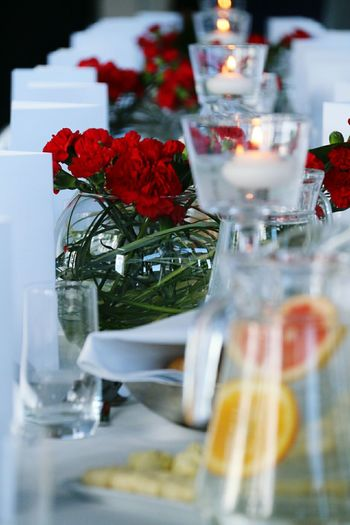 Banquet Table Setting Feast Catering Table Flower Tea Candle Ocassion Birthdays Baptismal Wedding Reception Food And Beverage F&b Set Meal Hotelshoot Hospitality Restaurants Colour Of Life