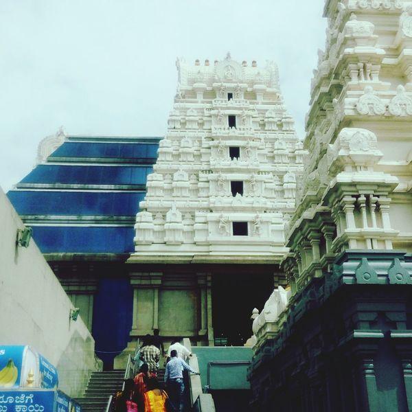 Iskon temple Bangalore Temple Bangalore Religion Religious Architecture God India Indian Culture  Indian Architecture First Eyeem Photo