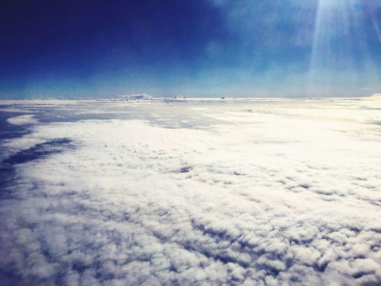 Walking on the ice Cloud Ryanair Flight Boeing737 Cominghome Sadness Loveyou