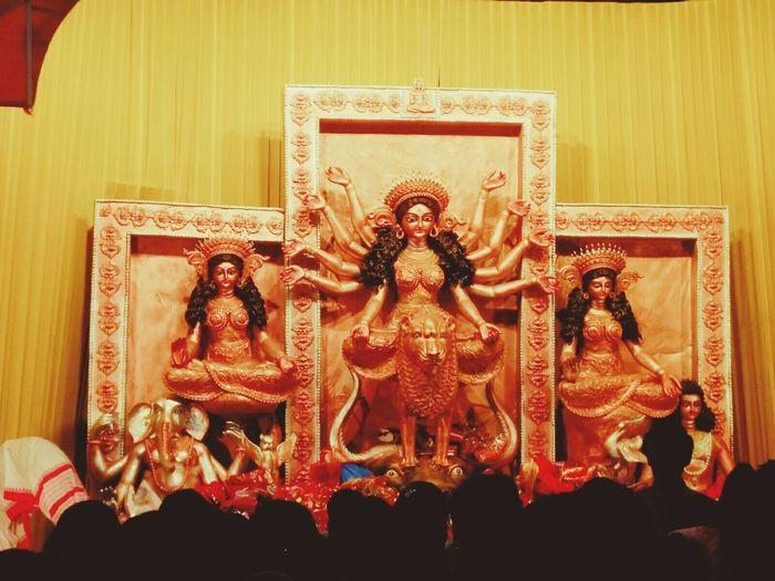 Art And Craft Religion Creativity Place Of Worship Day Of Worship Hinduism Hindu Goddess IndiaDurgapuja2016 Puja diaries!🙏