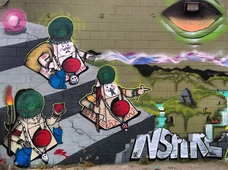 Graffiti Graffhunter Graffitiporn Denverstreetart Streetart Denvergraffiti Nspire @chrishaven
