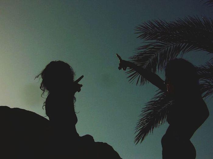 Throwback Beach Shadows That's Me