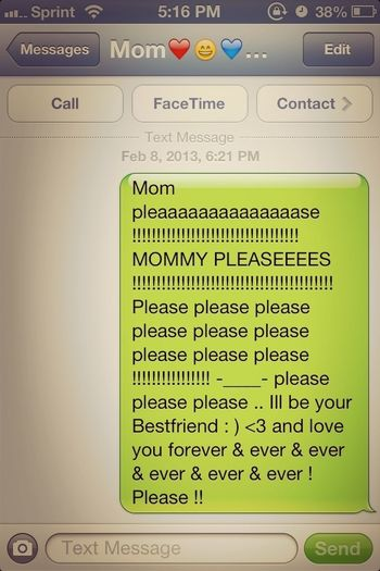 Had To Say This To My Mom Just So I Can Go Outside Lol
