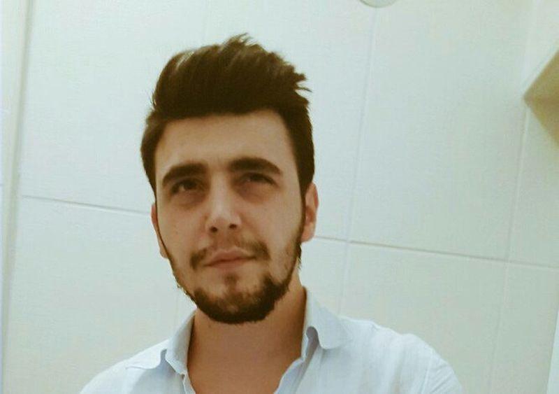 👔🎩💰 Me Selfie Guy Beard человек красивые довольно Hi! Bakis Iyi Akşamlar