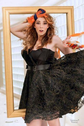 Model Russian Photo Shoot Follow