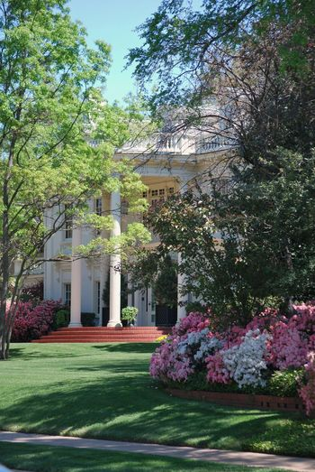 Dallas Turtlecreek Mansion Flowers Spring