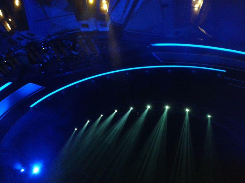 Friedrichstadtpalast The Purist (no Edit, No Filter) Musical Theater  Enjoying Life Light Fun! Theater Show Showtime Blue