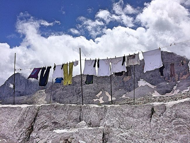 Laundry Drying Hanging Clothesline Sky Washing Clothing Outdoors Travel Destinations Clothespin Chores No People Low Angle View Day Flag Domestic Life Cultures The Week Of Eyeem The Week On EyeEem EyeEm Best Shots EyeEmNewHere EyeEmNewHere EyeEm Diversity Inner Power