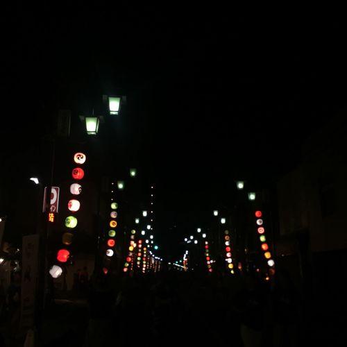 川越 夏 ちょうちん Matsuri Japan Japanese Culture Night Lights Dreaming Nostalgia KAWAII Hello World
