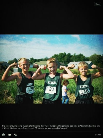 My favorite x country team
