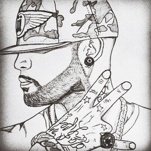 Booba #drawing #dessin