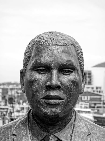 Albert John Luthuli Close-up Day Front View One Man Only Outdoors Portrait Sky South Africa Statue