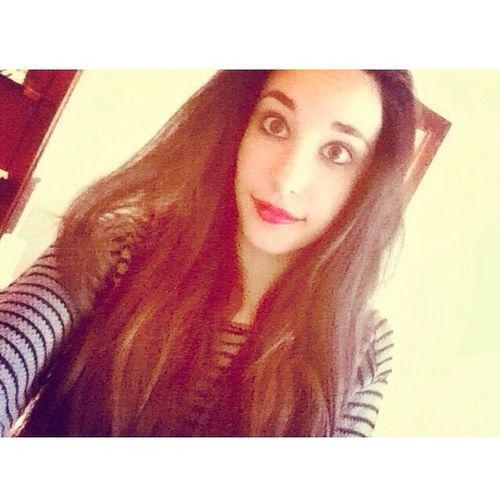 Selfie ✌ Red Lips Long Hair ???