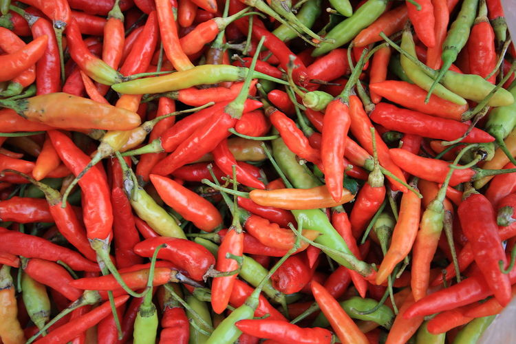 Backgrounds Chili  Close-up Food Fresh Market Full Frame Healthy Eating Market Market Red Red Chili Spice Spicy Spicy Food Street Food Street Food In Thailand Street Food Thailand Street Food Worldwide Street Foods SUPER Market Thai Chili Thai Food Thai Foods Vegetable Vegetables