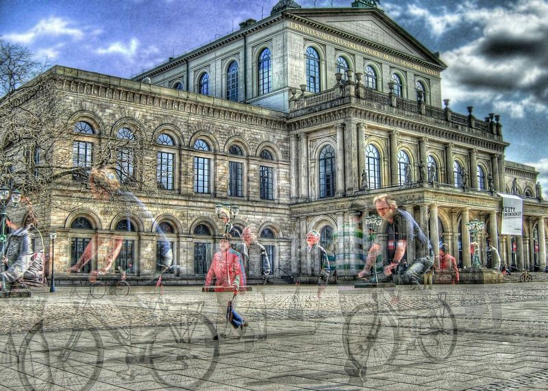 HDR Quality Time People Culture Hannover Staatsoper
